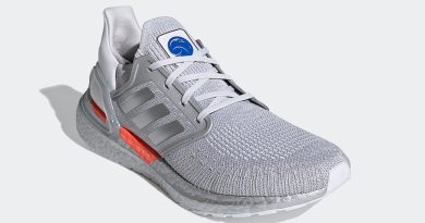 Pánské šedé tenisky a botasky NASA x adidas Ultra Boost 2020 Dash Grey/Silver Metallic-Halo Silver FX7957 běžecké boty a obuv Adidas