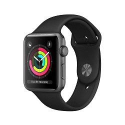 Voděodolné sportovní hodinky s GPS Apple Watch Series 3 38mm