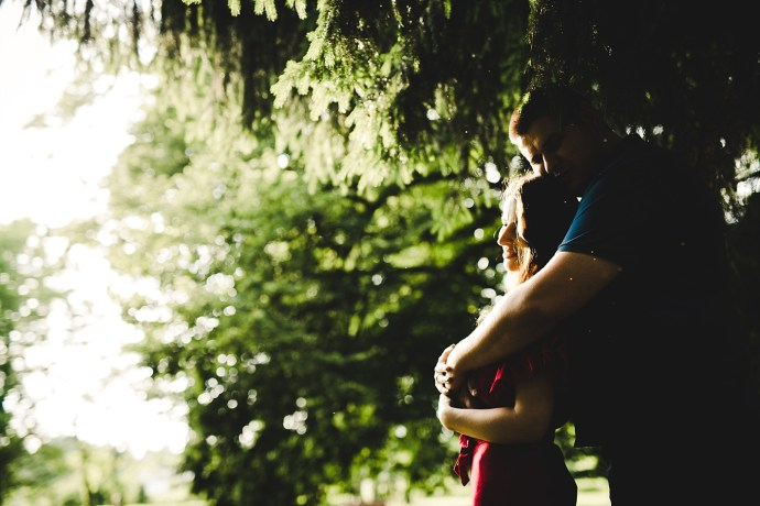 romantic engagement session at erdödy castle park mirela bauer photo