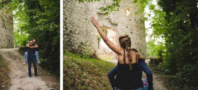 samobor old town engagement session mirela bauer photography smile baby