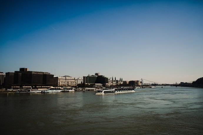 image shows budapest river danube mirela bauer photo