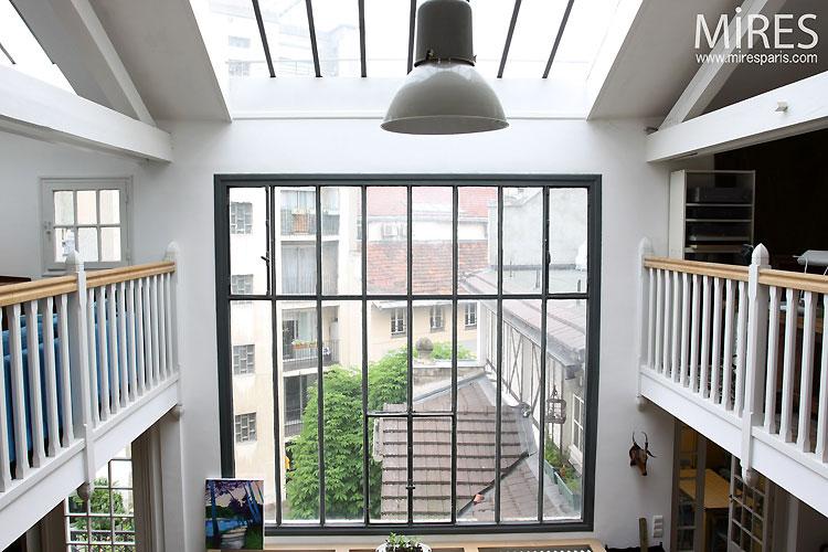 Coursives et baie vitre C0541  Mires Paris