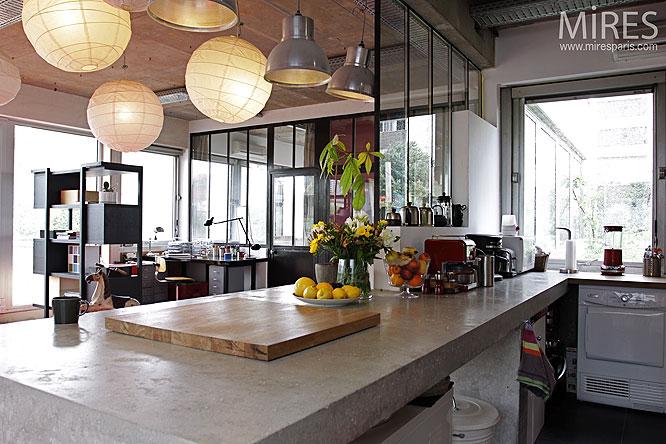 pendule de cuisine design