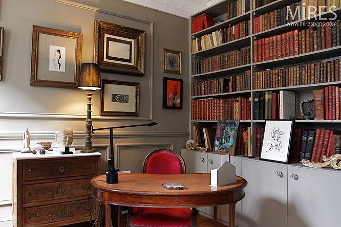 Chambre et bureau C0092  Mires Paris