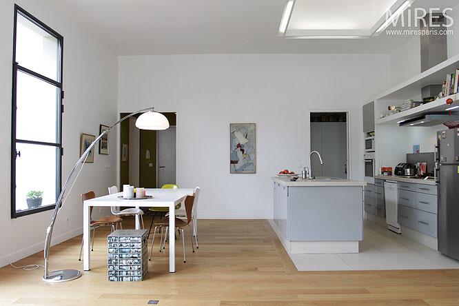 Cuisine Ouverte Sur Salon 30m2