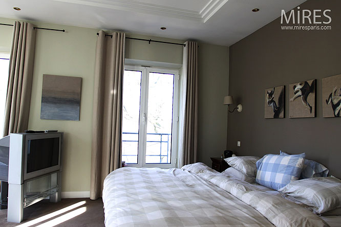 Chambre Taupe Et Chocolat