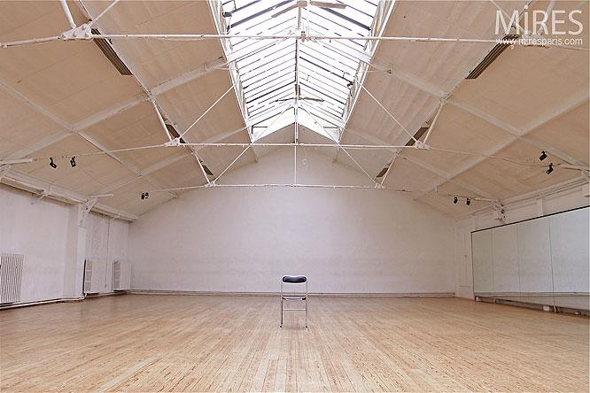 Salle de danse vide C0164  Mires Paris