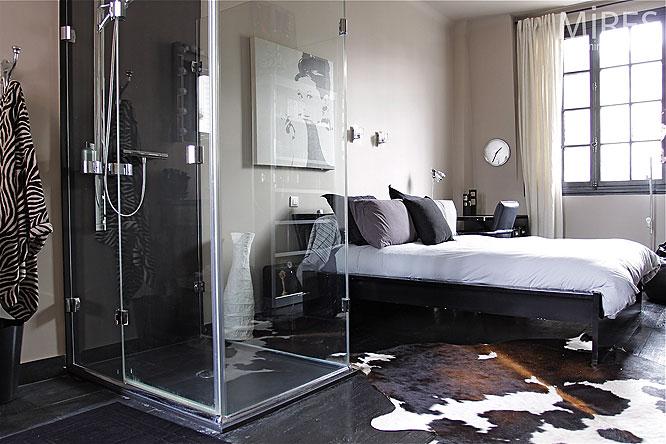 Chambre Noir Et Blanc Mur