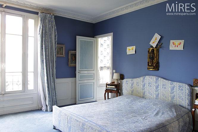 Bleu de nuit C0141  Mires Paris