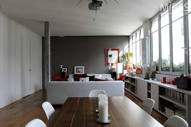 Loft moderne C0252  Mires Paris