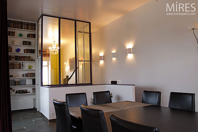 Sjour et baie vitre C0236  Mires Paris