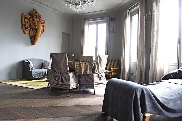 Sjour Dco Bleu Gris C0323 Mires Paris