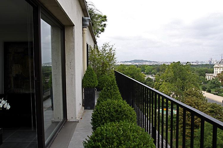 Balcon moderne C0388  Mires Paris