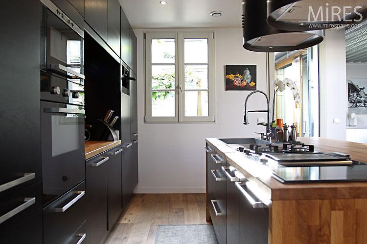 Cuisine Ouverte Design C0434 Mires Paris