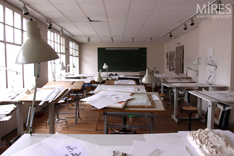 Salle de classe dart C0519  Mires Paris