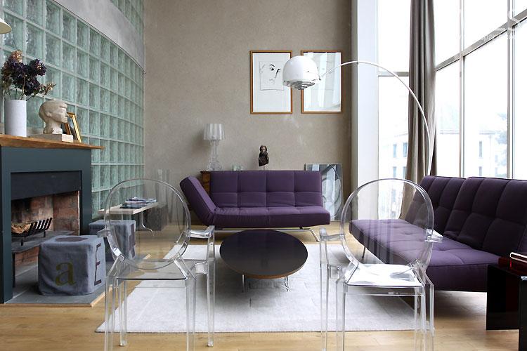 Loft moderne et baie vitre C0524  Mires Paris