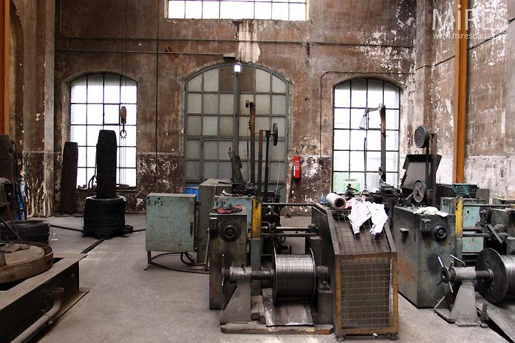 Ancienne usine C0546  Mires Paris