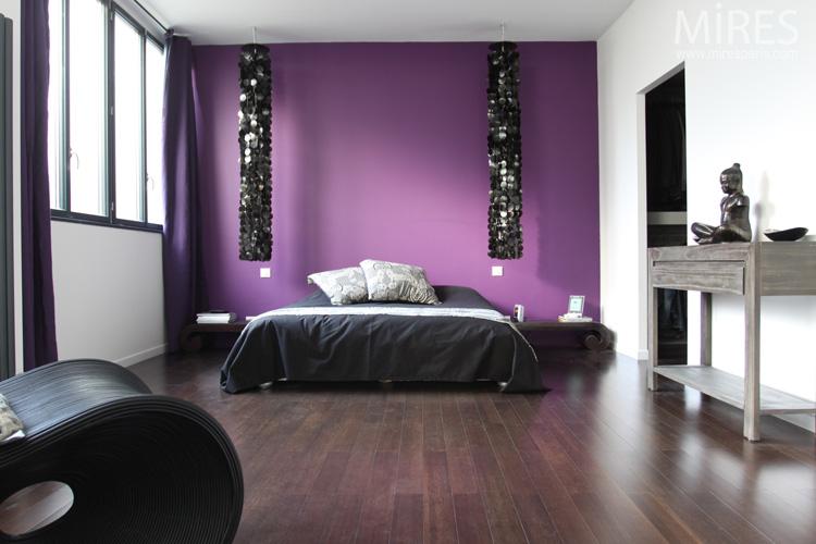 Amazing Harmonie Et Srnit Ambiance Violette C Chambre With