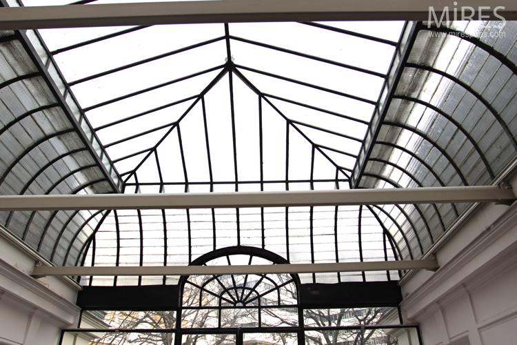 Verrires du sol au plafond C0669  Mires Paris
