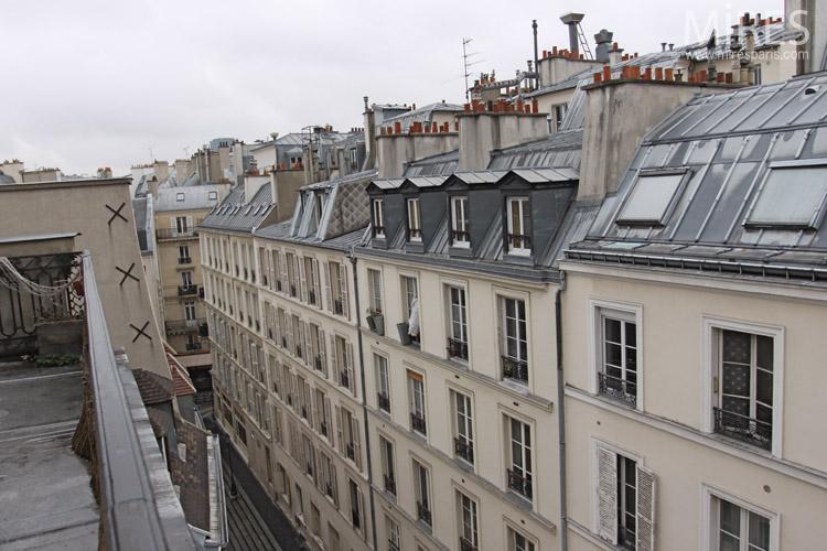 Vue Sur Notre Dame C0672 Mires Paris