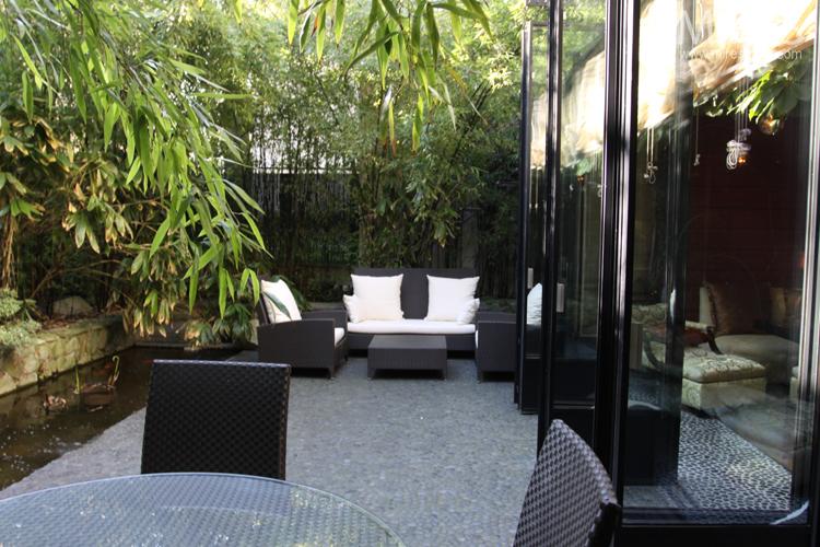 Terrasse et jardin japonais C0705  Mires Paris