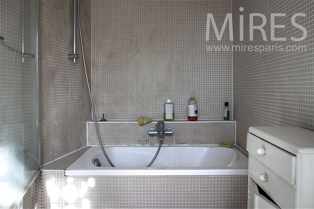 salle de bains baignoire sabot c0835