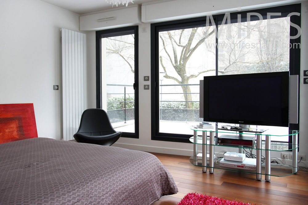 Duplex moderne avec terrasse C0842  Mires Paris