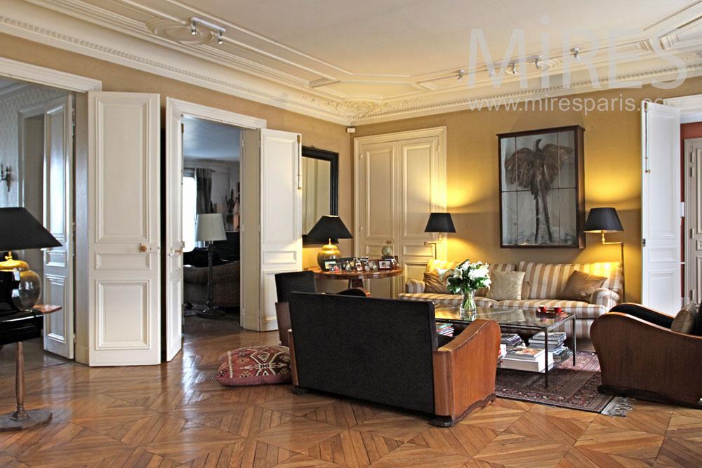 Salon style art dco avec un piano  queue C0851  Mires Paris