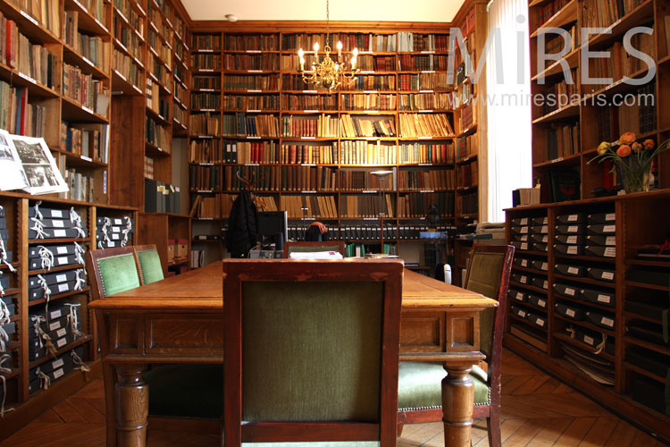 Poudlard bibliothque C0856  Mires Paris