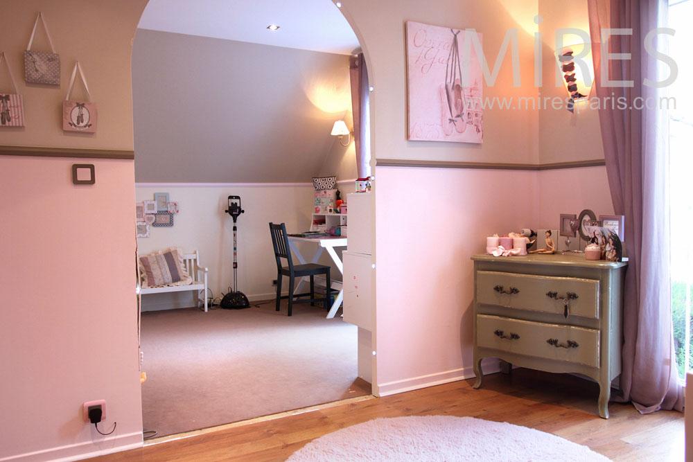 Double chambre pour les deux soeurs C0911  Mires Paris
