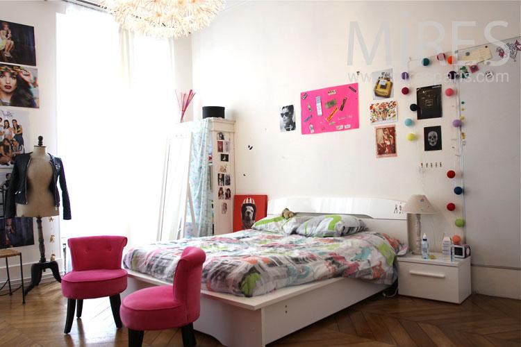 Chambre de jeune fille C0925  Mires Paris