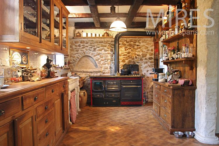 table comptoir cuisine