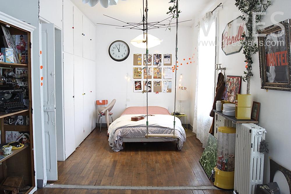 Chambre avec balanoire C0653  Mires Paris