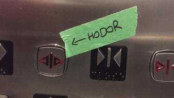 Hodor - Hold the door