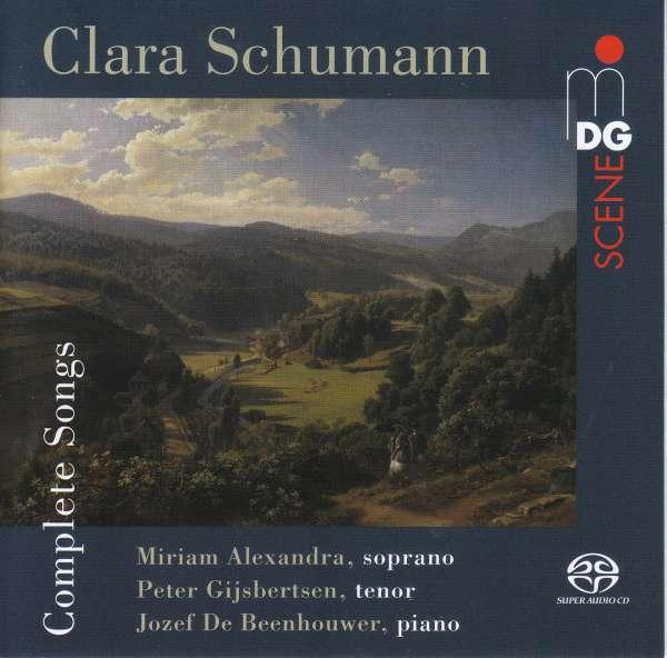 Clara Schumann: Sämtliche Lieder (Dabringhaus & Grimm 2019)