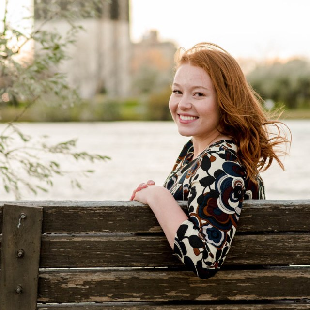 Sunset Bench Graduate Student