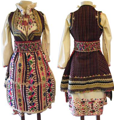 Costume traditionnel de Macédoine
