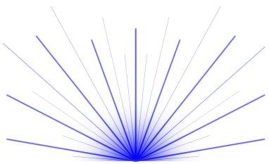 Blue laser burst2