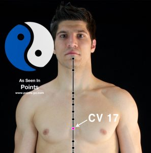Acupuncture Point CV 17