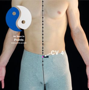 Acupuncture Point CV 4