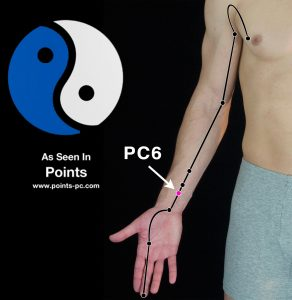 Acupuncture Point PC 6