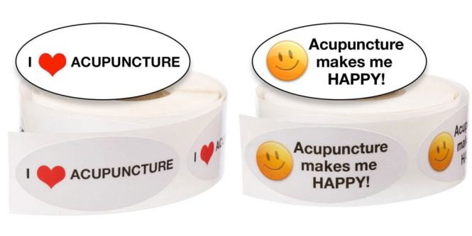 Acupuncture Stickers