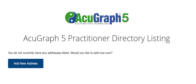 AcuGraph Practitioner Directory Llsting