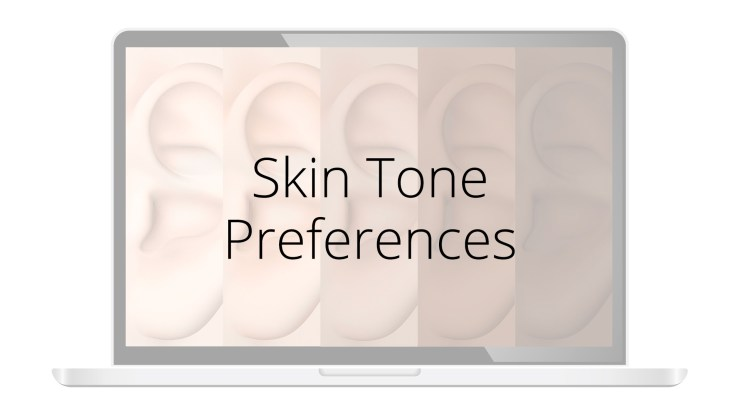 Auriculo 360 new features skin tone preferences