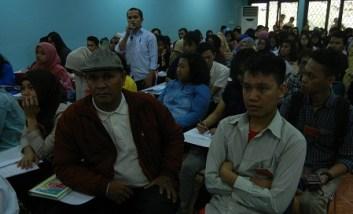 Suasana acara Perkenalan Calon Anggota PERMAHI DPC Jakarta