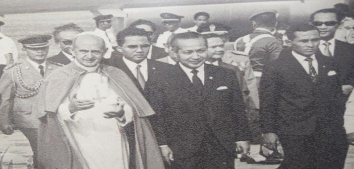 Kunjungan Paus Paulus VI ke Indonesia 1970