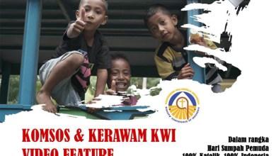 Komsos-Kerawam KWI, Lomba Video Feature, 100% Katolik 100% Indonesia, Konferensi Waligereja Indonesia, Sumpah Pemuda, 28 Oktober, KWI