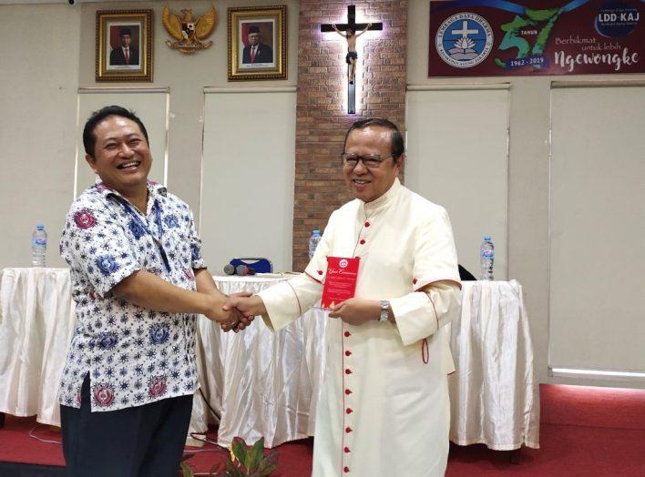 Christus Vivit, Gereja Katolik Indonesia, Single for Christ, Bapa Kardinal Suharyo, Ketua KWI, Uskup Agung Jakarta, Komsos KWI, Konferensi Waligereja Indonesia