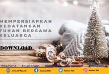 Materi Adven Keluarga 2020, Adven, KWI, Konferensi Waligereja Indonesia, Komisi Keluarga KWI, Komsos KWI, Katekese, Yesus Kristus, Keluarga Katolik, Bacaan