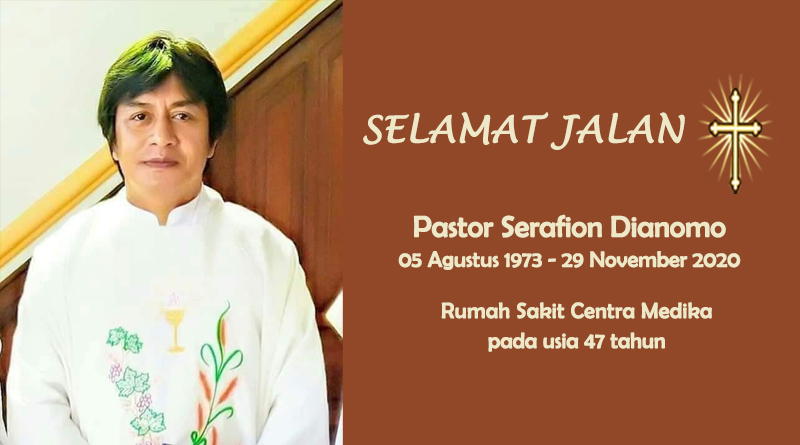 RIP, Pastor Serafion Dianomo, Komsos KWI, Konferensi Waligereja Indonesia, KWI, Gereja Katolik Indonesia, teladan kita, umat katolik, yesus kristus, Catholic, Requiescat In Pace